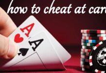 Poker Using Luminous Marked Cards